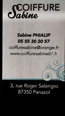 Coiffure Sabine